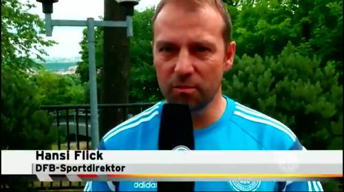 Hansi Flick - interview 1