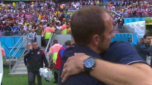 Hansi Flick & Jürgen Klinsmann – USA v Germany 1