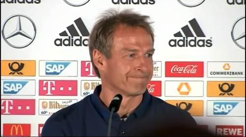 Jürgen Klinsmann - Pressekonferenz nach dem Spiel gegen die USA 1