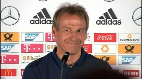 Jürgen Klinsmann - Pressekonferenz nach dem Spiel gegen die USA 2