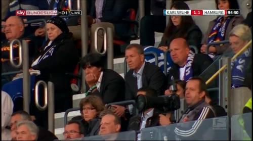 Joachim Löw & Andreas Köpke at Karlsuher SC v HSV 1