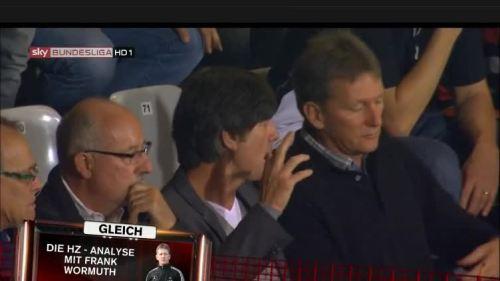 Joachim Löw at SC Freiburg v Hertha BSC 1