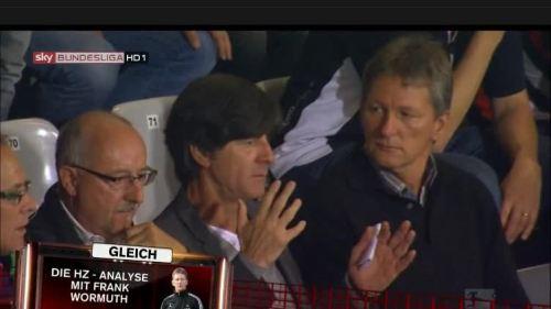 Joachim Löw at SC Freiburg v Hertha BSC 2