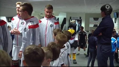 Joachim Löw - Deutschland v USA 1st half 1