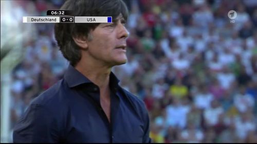 Joachim Löw - Deutschland v USA 1st half 12