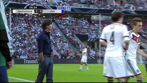 Joachim Löw - Deutschland v USA 1st half 13