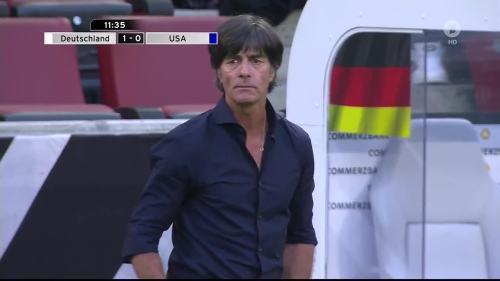Joachim Löw - Deutschland v USA 1st half 14