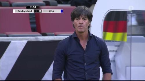 Joachim Löw - Deutschland v USA 1st half 15