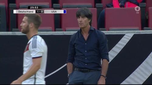 Joachim Löw - Deutschland v USA 1st half 18