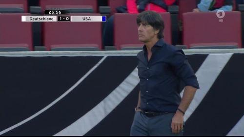 Joachim Löw - Deutschland v USA 1st half 19