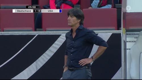 Joachim Löw - Deutschland v USA 1st half 21
