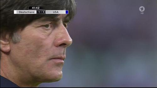 Joachim Löw - Deutschland v USA 1st half 22