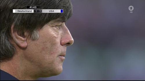 Joachim Löw - Deutschland v USA 1st half 23