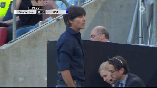 Joachim Löw - Deutschland v USA 1st half 7