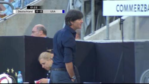 Joachim Löw - Deutschland v USA 1st half 8