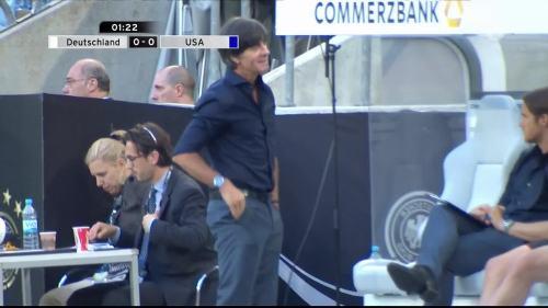 Joachim Löw - Deutschland v USA 1st half 9