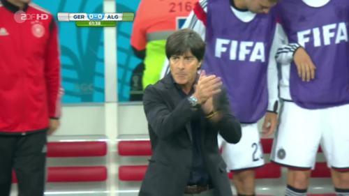 Joachim Löw – Germany v Algeria 11