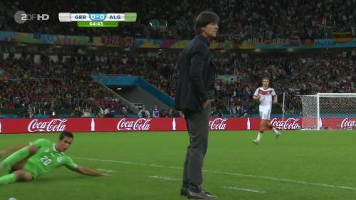 Joachim Löw – Germany v Algeria 16