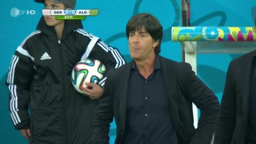 Joachim Löw – Germany v Algeria  22