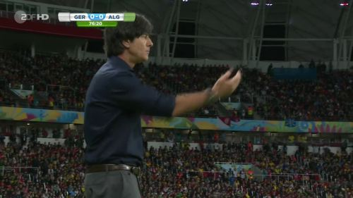 Joachim Löw – Germany v Algeria 27