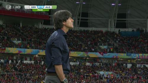 Joachim Löw – Germany v Algeria 29