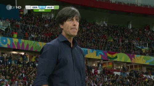 Joachim Löw – Germany v Algeria 31
