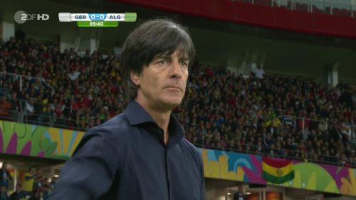 Joachim Löw – Germany v Algeria 32