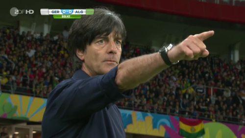 Joachim Löw – Germany v Algeria 33