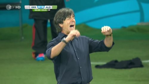 Joachim Löw – Germany v Algeria 35