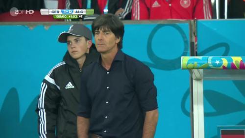 Joachim Löw – Germany v Algeria 42