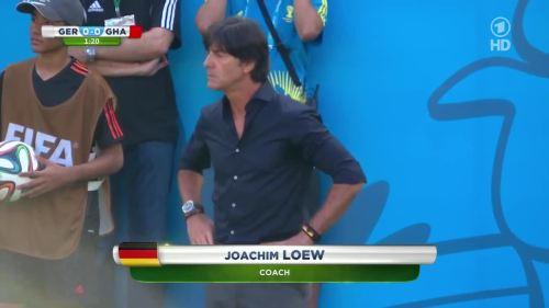 Joachim Löw – Germany v Ghana 2