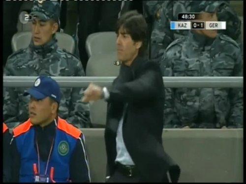 Joachim Löw – Kazakhstan v Germany 4