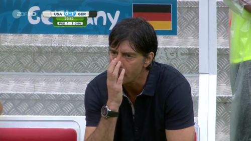 Joachim Löw – USA v Germany 14