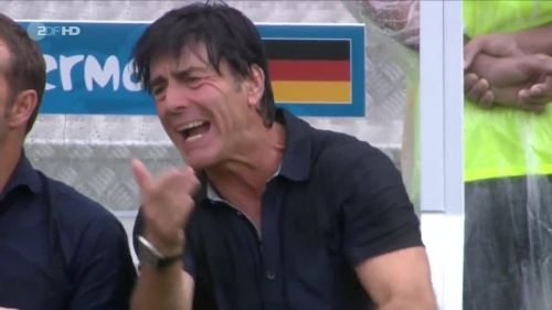 Joachim Löw – USA v Germany 34