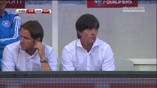 Joachim Löw - Gibraltar v Germany 11