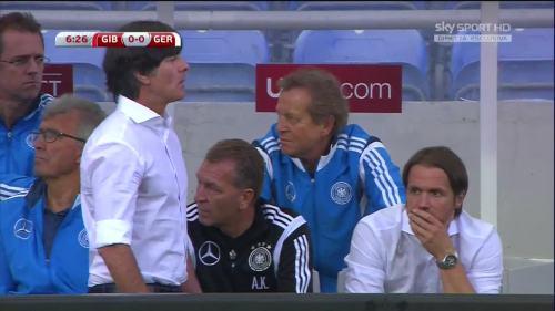 Joachim Löw - Gibraltar v Germany 14
