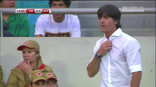 Joachim Löw - Gibraltar v Germany 26