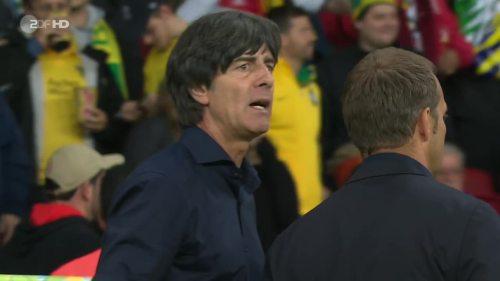 Joachim Löw & Hansi Flick – Germany v Algeria 16