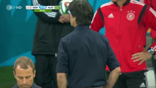 Joachim Löw & Hansi Flick – Germany v Algeria 17