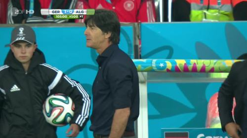 Joachim Löw & Hansi Flick – Germany v Algeria 19