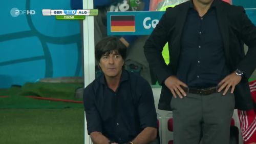 Joachim Löw & Hansi Flick – Germany v Algeria 20