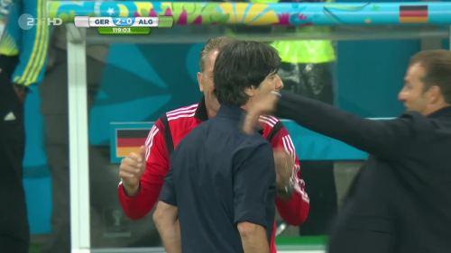 Joachim Löw & Hansi Flick – Germany v Algeria 24