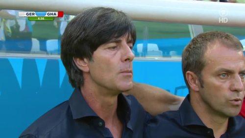 Joachim Löw & Hansi Flick – Germany v Ghana 4