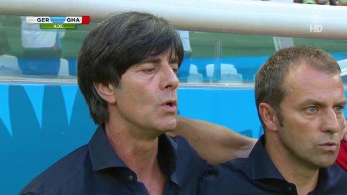 Joachim Löw & Hansi Flick – Germany v Ghana 5