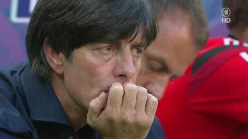 Joachim Löw & Hansi Flick – Germany v Ghana 6