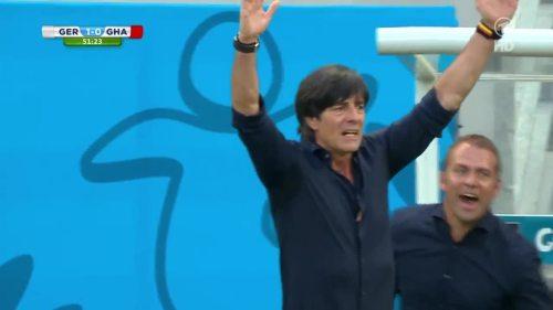 Joachim Löw & Hansi Flick – Germany v Ghana 8
