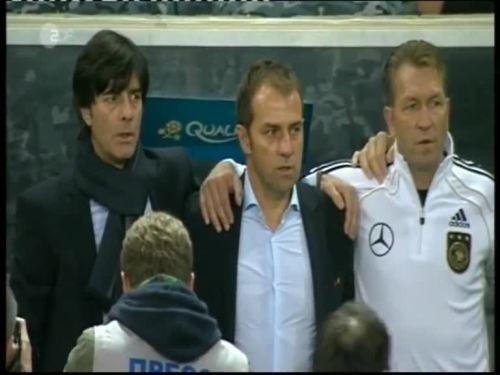 Joachim Löw & Hansi Flick – Kazakhstan v Germany 1