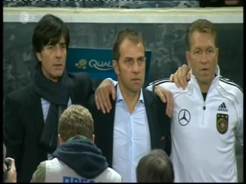 Joachim Löw & Hansi Flick – Kazakhstan v Germany 2
