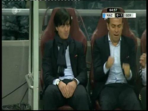 Joachim Löw & Hansi Flick – Kazakhstan v Germany 29
