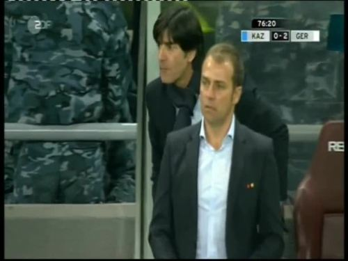 Joachim Löw & Hansi Flick – Kazakhstan v Germany 35